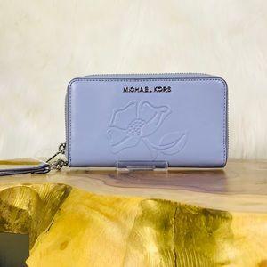 Michael Kors Large Floral Phone Case Wallet